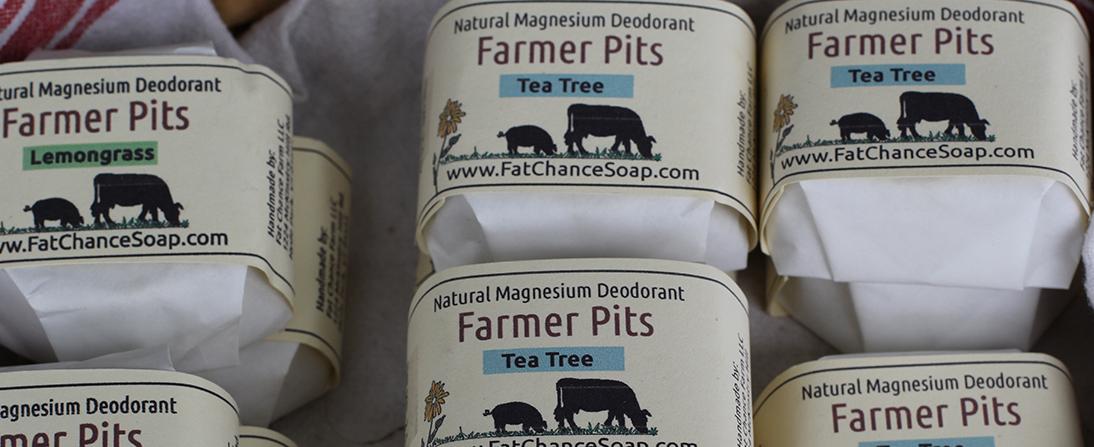 Fat Chance Soap Natural Magnesium Deodrant